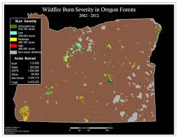 Wild Fires In Oregon State by Oregon Wild Map Gallery Oregon Wild