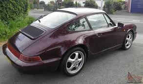 1990 porsche 911 carrera 2 porsche 911 carrera 2 coupe tiptronic maroon 1990