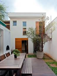 modern narrow house modern house in a narrow land in são paulo interior design ideas