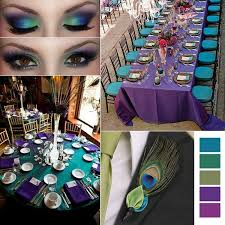 peacock wedding peacock wedding inspiration by linentablecloth