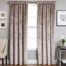 Bed Bath And Beyond Window Curtains Buy Velvet Rod Pocketback Tab 63 Inch Lined Window Curtain