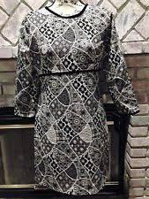 zara long sleeve geometric dresses for women ebay