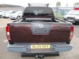 nissan platinum truck used nissan navara platinum d c dci pick up for sale in ashington