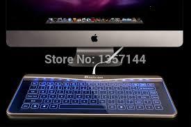 ecran tactile pc bureau bastron écran tactile verre keybaord usb filaire clavier mince