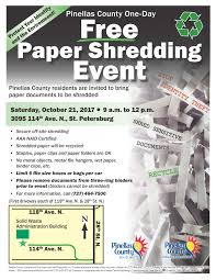 where to shred papers for free free paper shredding event sunday october 21 2017 from 9 am
