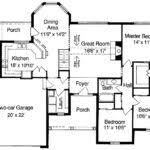 House Floor Plan Measurements Floor Plans Simple One Story House Building Plans Online 26736