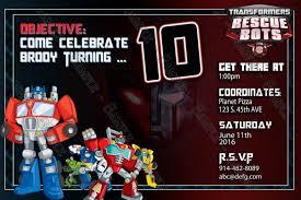 transformer birthday template classic transformer birthday party invitation wording