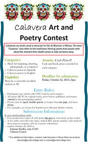 and poetry contest announced