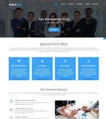speed hosting bootstrap free html5 template