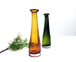 Modern Glass Vase Circular Glass Vases Empoli Green Glass Vases Big Glass Vases
