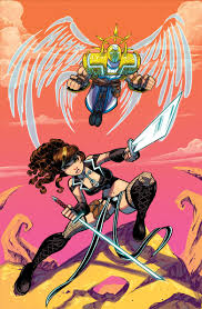 avengelyne character comic vine