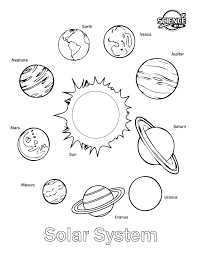 download coloring pages of solar system ziho coloring