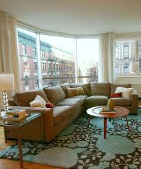 Living Room With Area Rug by Best 25 Tan Sectional Ideas On Pinterest Tan Couches Tan Couch