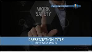work safety powerpoint 55717 free powerpoint work safety