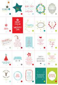 Printable Advent Calendar Sayings | lostbumblebee christmas cheer advent calendar