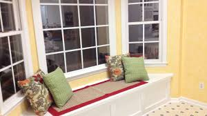 Bench Stunning Diy Window Bench A Simple Comfy And Very Sturdy