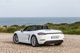 porsche 2017 white current 2017 porsche boxster 718 find a serious bring up to date