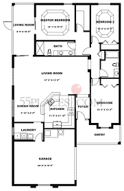 arlington floorplan 1667 sq ft the villages 55places com