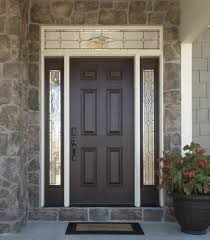 all glass front door versatile durable fiberglass front doors with decorative glass