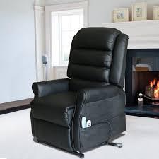 Armchair Recliner Magic Union Massage Chairs Recliner Power Lift Heated Vibrating Pu