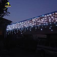 custom length decorative led icicle shaped lights buy