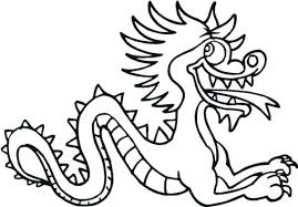 chinese dragon coloring pages easy chinese new year dragon coloring pages new year dragon coloring