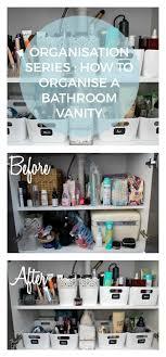 bathroom cabinet organization ideas best 25 bathroom vanity organization ideas on