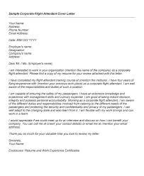Sample Flight Attendant Resume Flight Attendant Cover Letter Sample Job And Resume Template