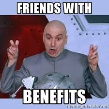 Friends With Benefits Meme - friends with benefits dr evil meme meme generator