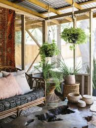 tour a designer u0027s home full of unique vintage finds porch
