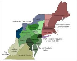 Eastern States Map by Political Map Of The North Atlantic States Worldbuilding