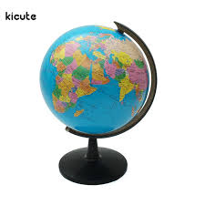 world globe map ornaments with swivel stand home office office shop
