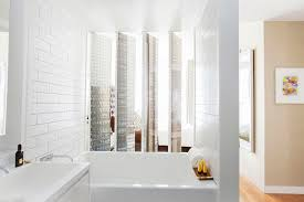 Subway Tiles In Bathroom Fancy Modern Subway Tile Bathroom Designs H97 On Home Interior