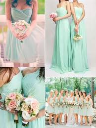 Mint Green Wedding Top 10 Colors For Bridesmaid Dresses Tulle U0026 Chantilly Wedding Blog