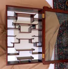 curio cabinet corner wood curio cabinet bar engrossing cabinets