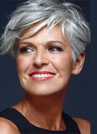 haircuts for women over 50 gray superb short hairstyles for women over 50 short asymmetrical