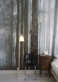 whimsical master bedrooms with forest wallpaper u2013 master bedroom ideas