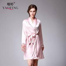 robe de chambre été femme été femme nuit solide peignoir robe de chambre solide femme robe de