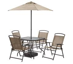 Patio Set Umbrella Home Depot 7 Patio Set With Umbrella For 99