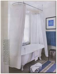 Clawfoot Tub Shower Curtain Ideas Tub Shower Curtain Ideas