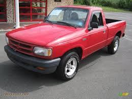 mazda b series 1997 mazda b series truck b2300 regular cab in bright red m10278