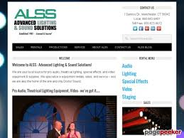 advanced lighting and sound stagelighting info sales rental