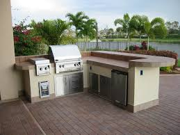 charming prefabricated outdoor kitchen and appliances ideas