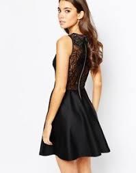 black dress uk ted baker black dress lace back size 1 uk 8 ebay