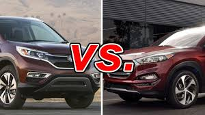 hyundai tucson or honda crv honda cr v vs hyundai tucson carsdirect