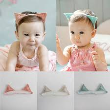 toddler hair accessories 2016 new baby hair accessories infant toddler cat s ear