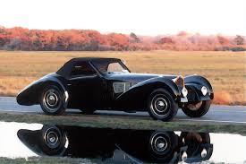 vintage bugatti bugatti type 57 sc gangloff roadster 1 18 looksmart models