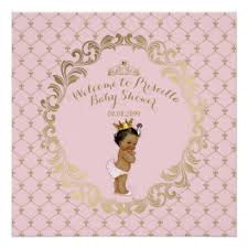 baby shower poster princess baby shower posters zazzle