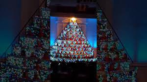 first sarasota singing christmas tree 2016 youtube