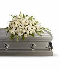 casket sprays silken serenity casket spray in prescott az allan s flowers more